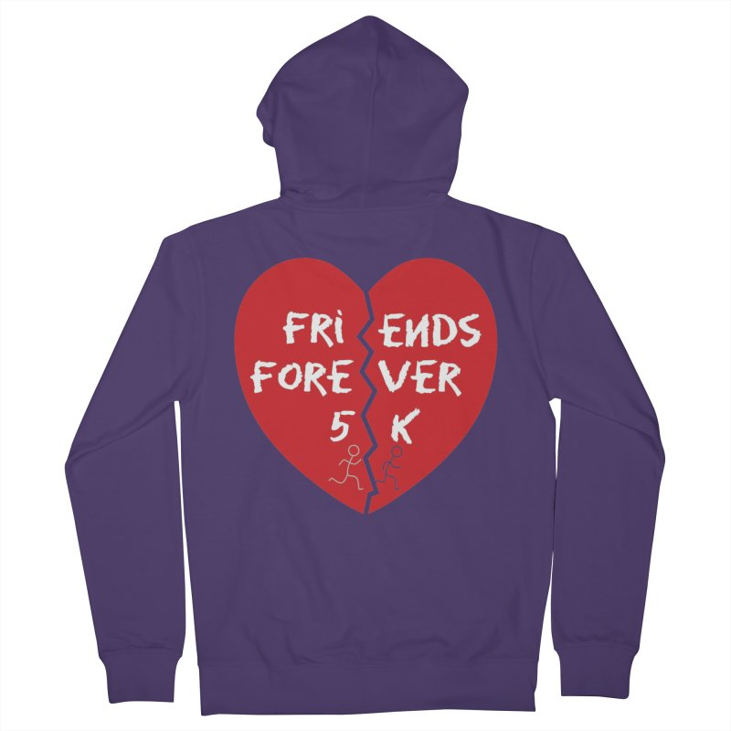 Friends Forever Women's French Terry Zip-Up Hoody by Moon Joggers's Artist Shop
