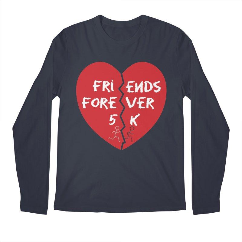 Friends Forever Men's Regular Longsleeve T-Shirt by Moon Joggers's Artist Shop