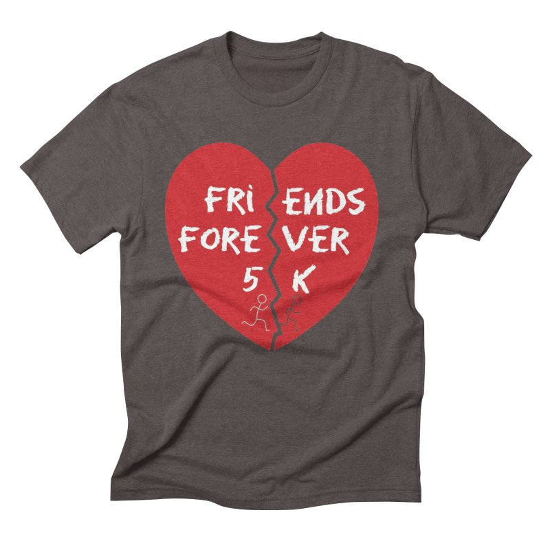 Friends Forever Men's Triblend T-Shirt by Moon Joggers's Artist Shop