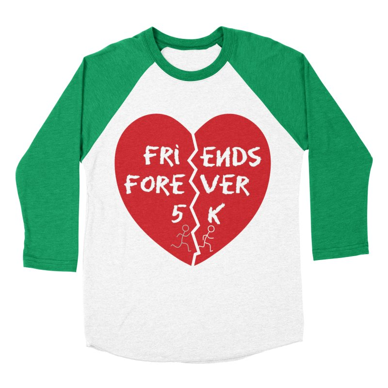 Friends Forever Women's Baseball Triblend Longsleeve T-Shirt by Moon Joggers's Artist Shop