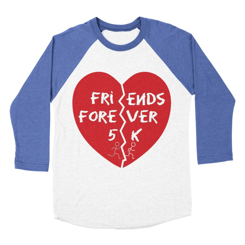 Friends Forever Men's Baseball Triblend Longsleeve T-Shirt by Moon Joggers's Artist Shop