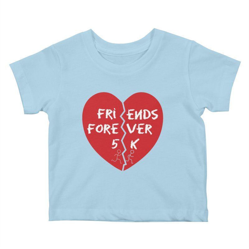 Friends Forever Kids Baby T-Shirt by moonjoggers's Artist Shop