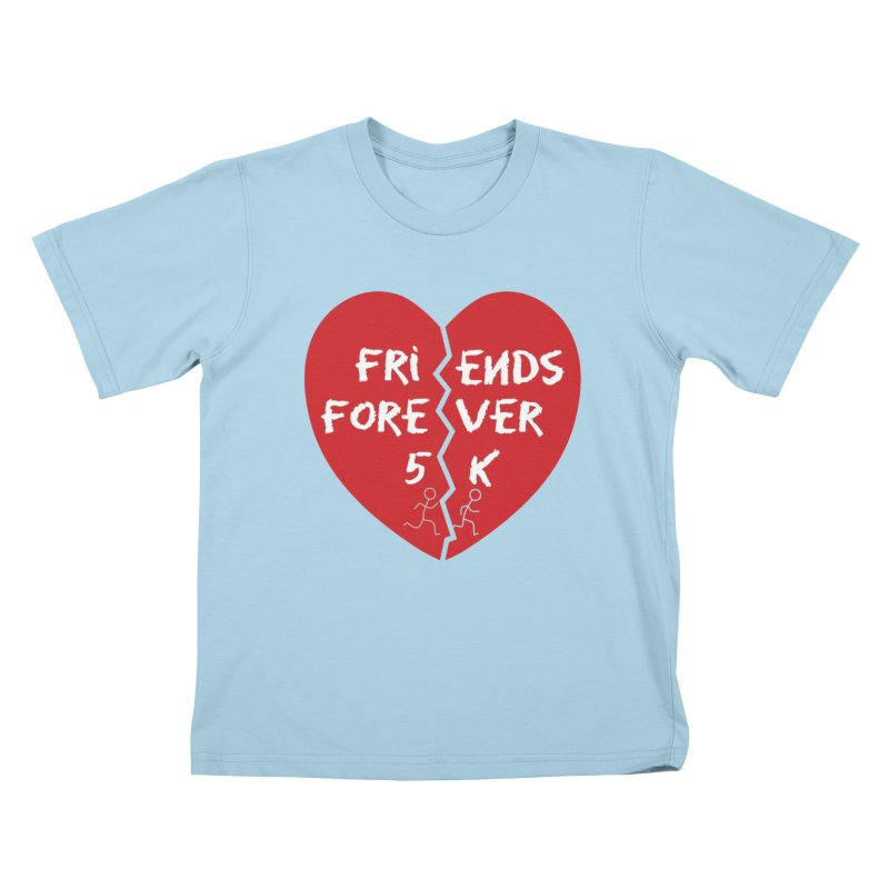 Friends Forever Kids T-Shirt by Moon Joggers's Artist Shop