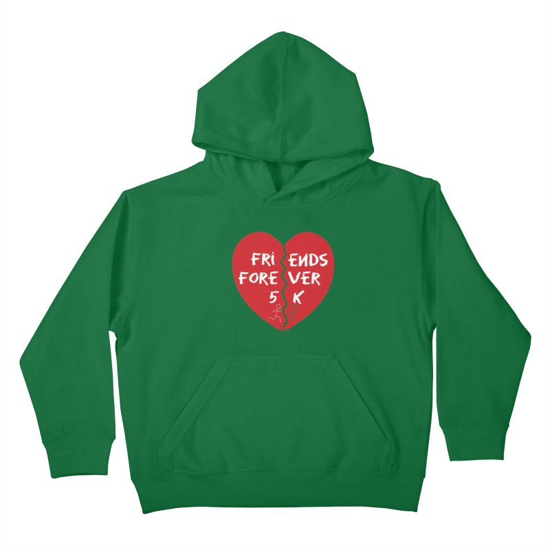 Friends Forever Kids Pullover Hoody by Moon Joggers's Artist Shop