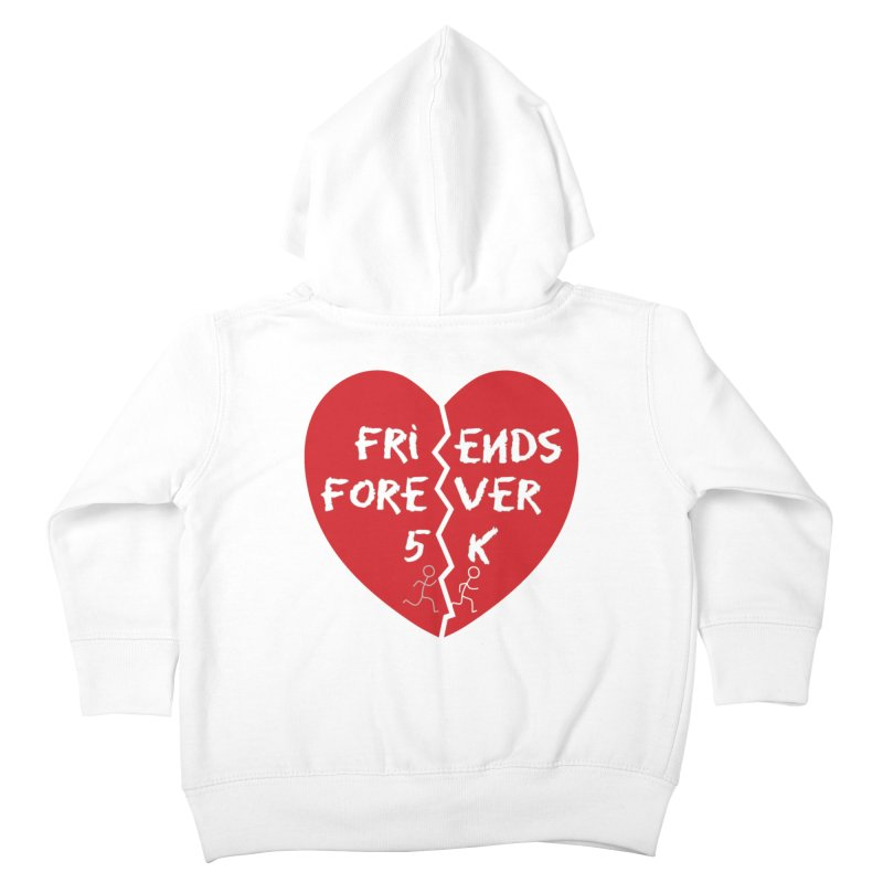 Friends Forever Kids Toddler Zip-Up Hoody by Moon Joggers's Artist Shop