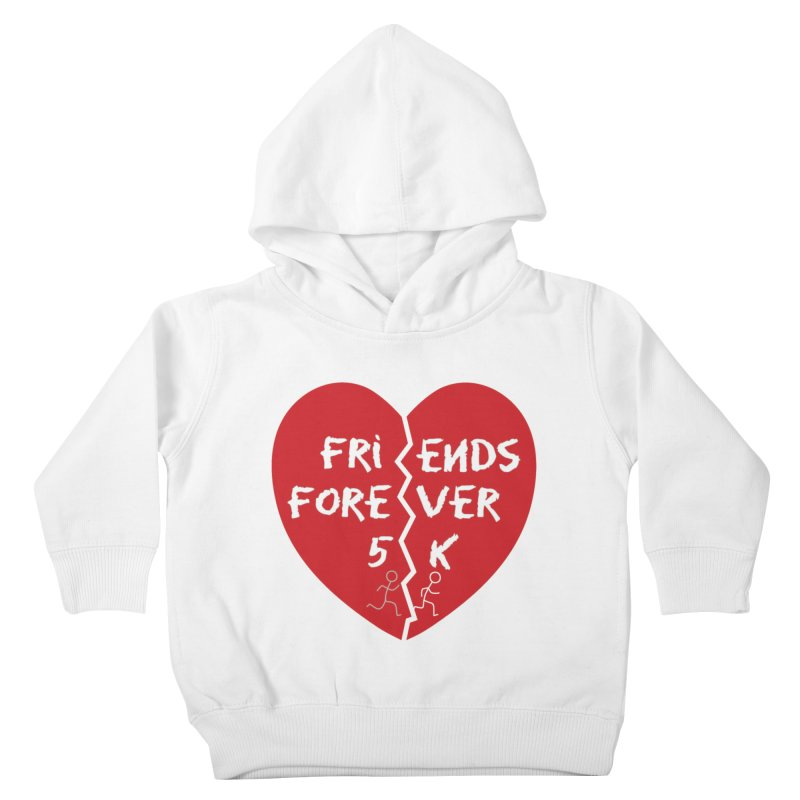 Friends Forever Kids Toddler Pullover Hoody by Moon Joggers's Artist Shop