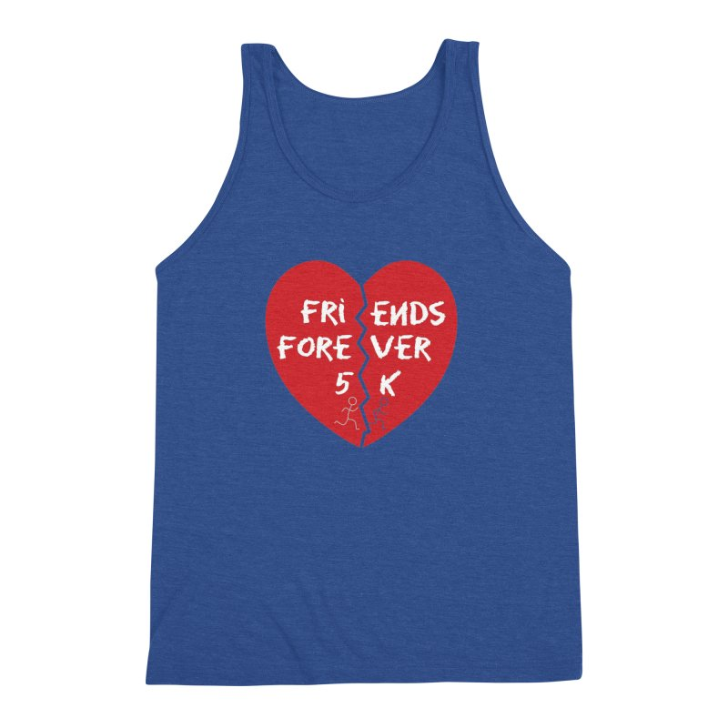 Friends Forever Men's Triblend Tank by Moon Joggers's Artist Shop