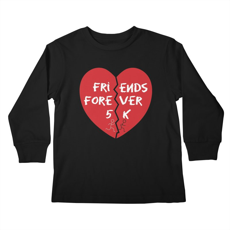 Friends Forever Kids Longsleeve T-Shirt by Moon Joggers's Artist Shop