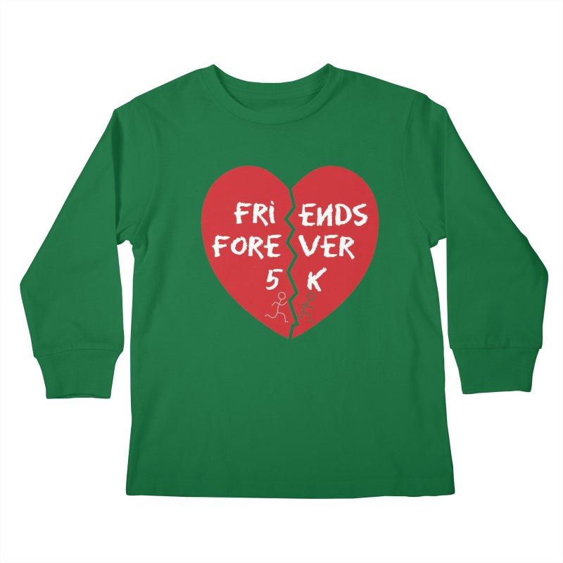 Friends Forever Kids Longsleeve T-Shirt by Moon Joggers's Artist Shop