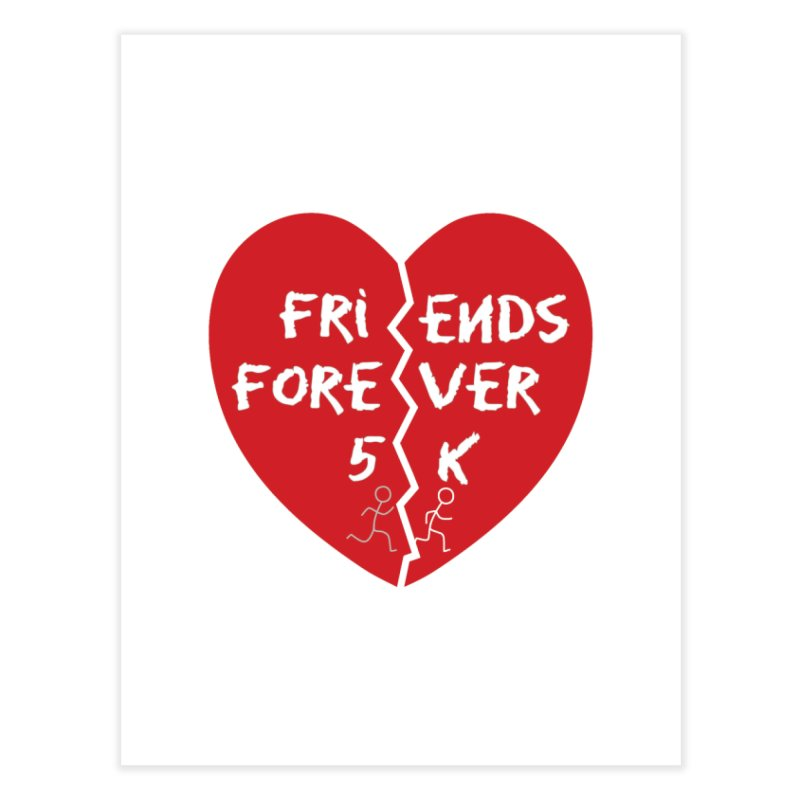 Friends Forever Home Fine Art Print by moonjoggers's Artist Shop