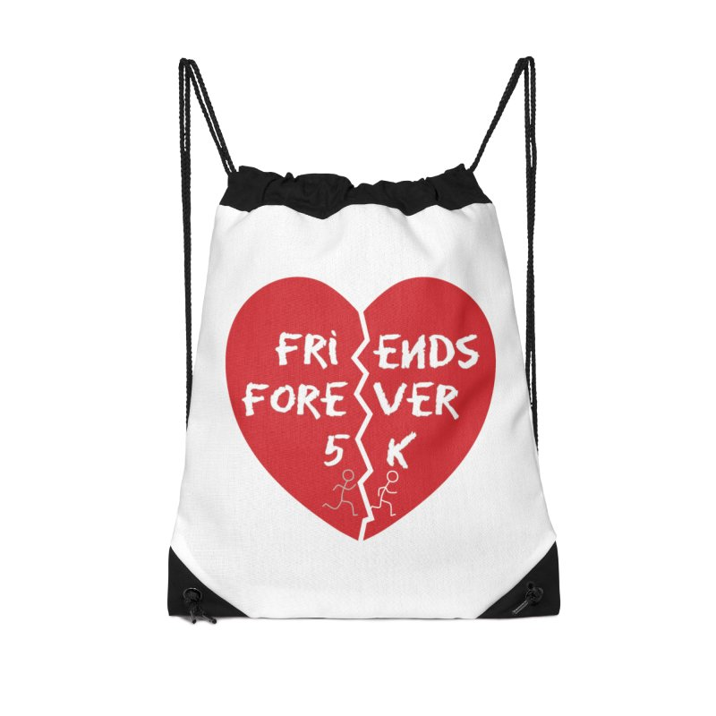 Friends Forever Accessories Drawstring Bag Bag by Moon Joggers's Artist Shop