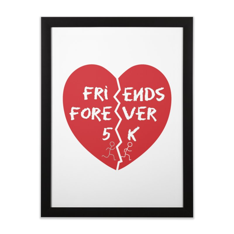 Friends Forever Home Framed Fine Art Print by moonjoggers's Artist Shop
