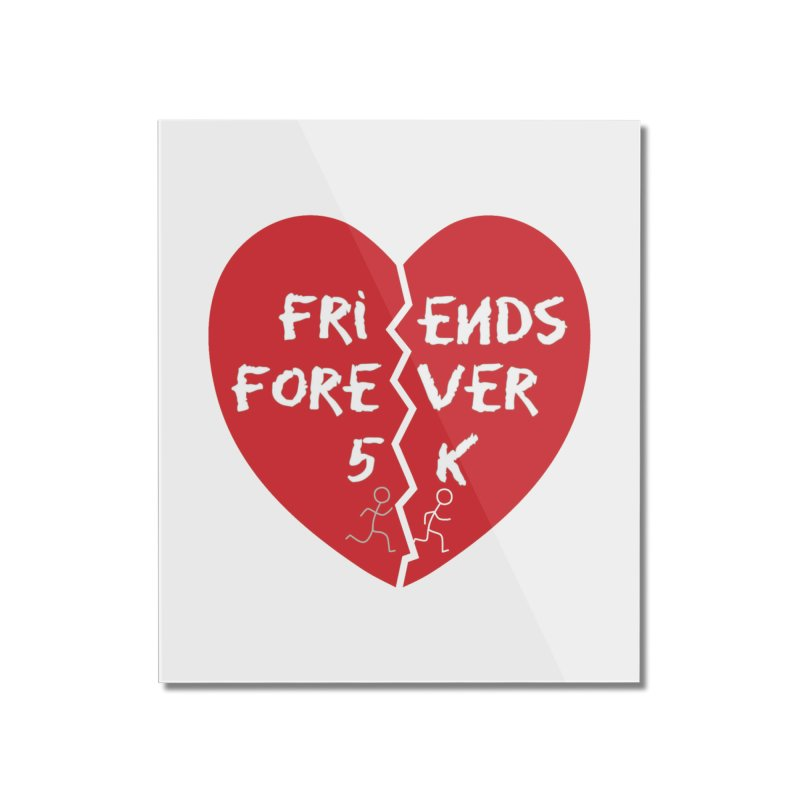 Friends Forever Home Mounted Acrylic Print by moonjoggers's Artist Shop