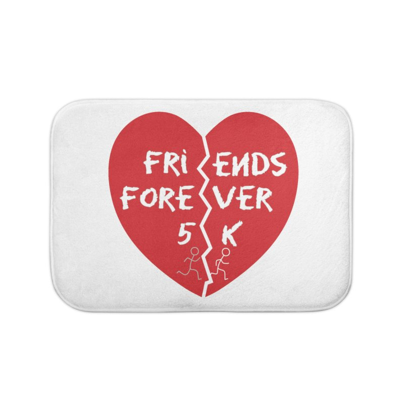 Friends Forever Home Bath Mat by Moon Joggers's Artist Shop
