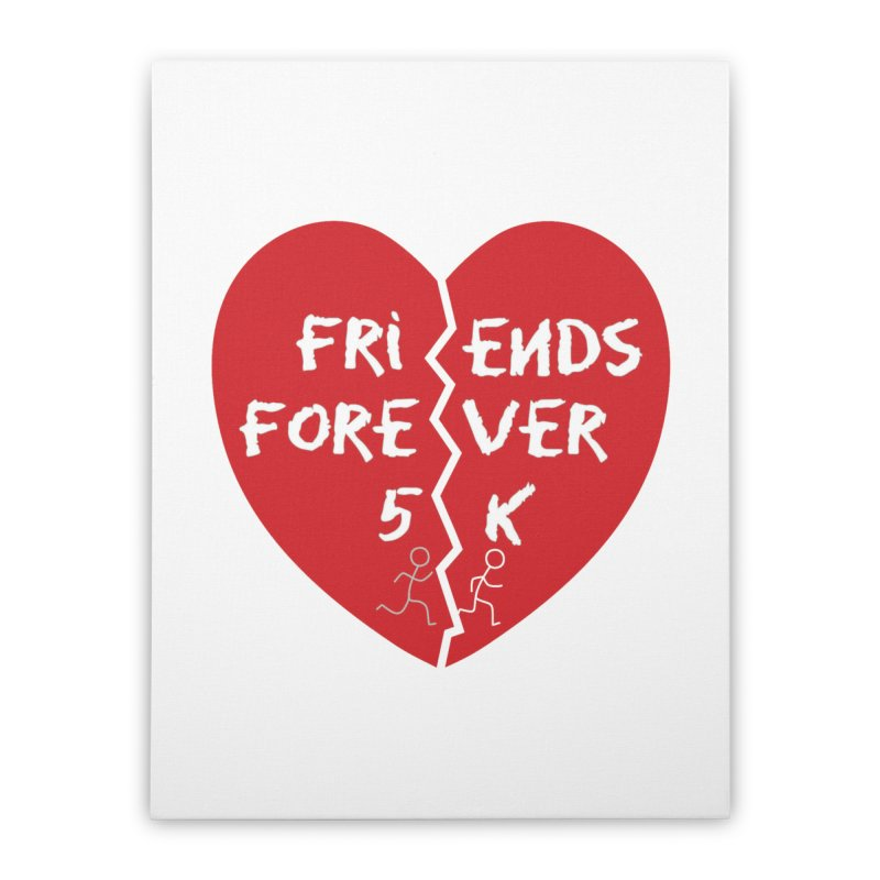 Friends Forever Home Stretched Canvas by Moon Joggers's Artist Shop