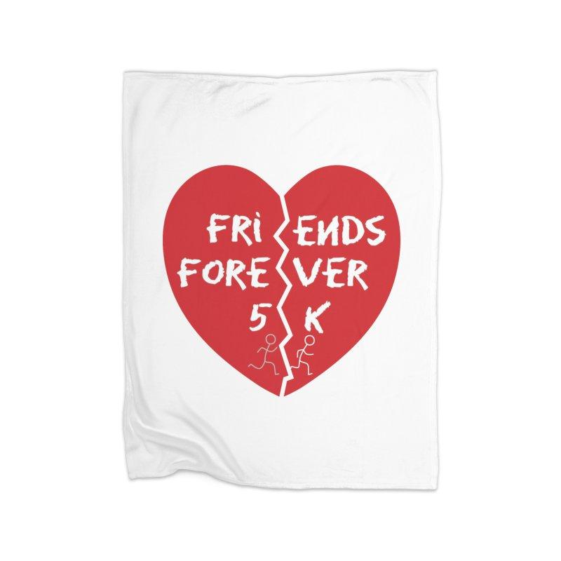 Friends Forever Home Fleece Blanket Blanket by Moon Joggers's Artist Shop