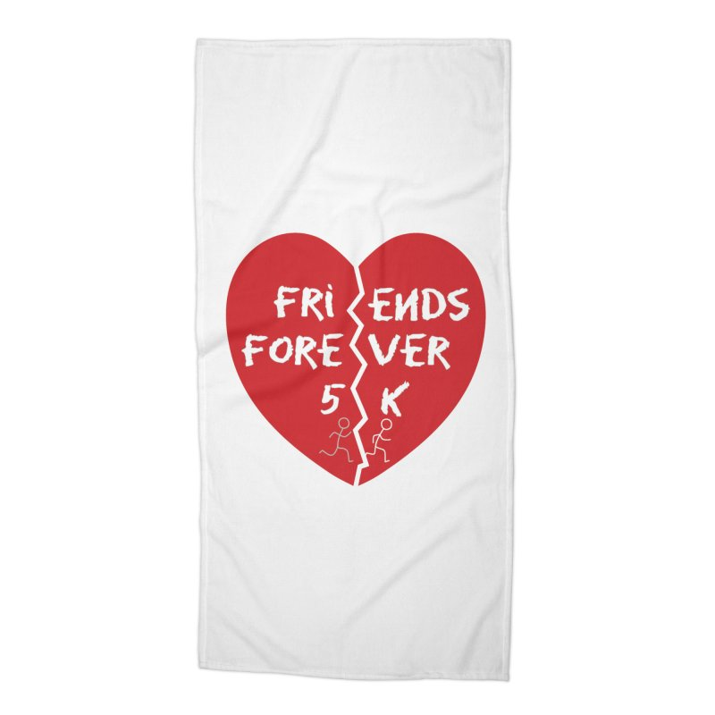 Friends Forever Accessories Beach Towel by moonjoggers's Artist Shop