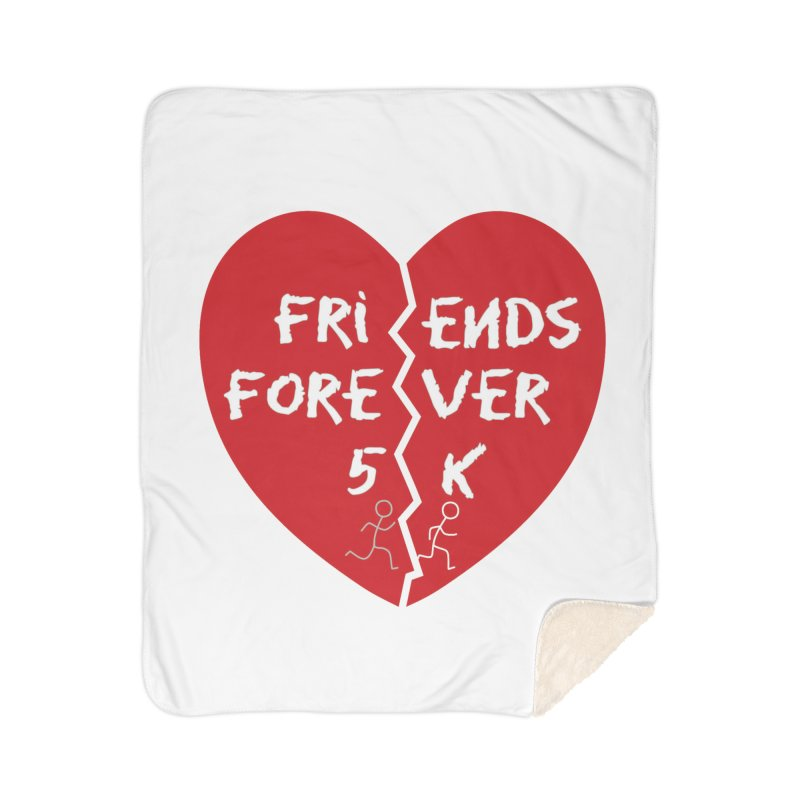 Friends Forever Home Sherpa Blanket Blanket by Moon Joggers's Artist Shop