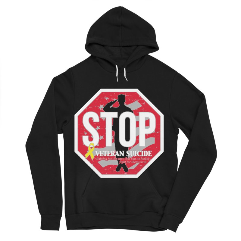 Stop Veteran Suicide Women's Sponge Fleece Pullover Hoody by Moon Joggers's Artist Shop
