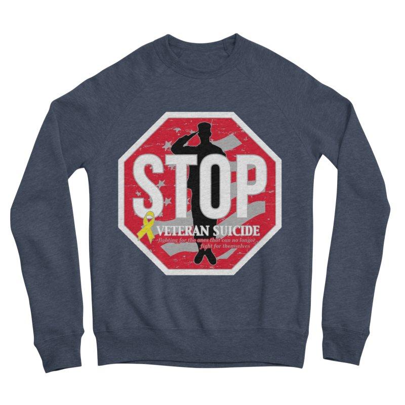 Stop Veteran Suicide Men's Sponge Fleece Sweatshirt by Moon Joggers's Artist Shop