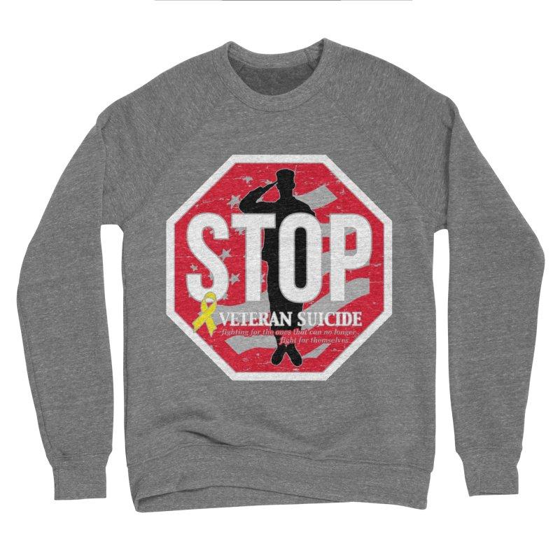 Stop Veteran Suicide Women's Sponge Fleece Sweatshirt by Moon Joggers's Artist Shop