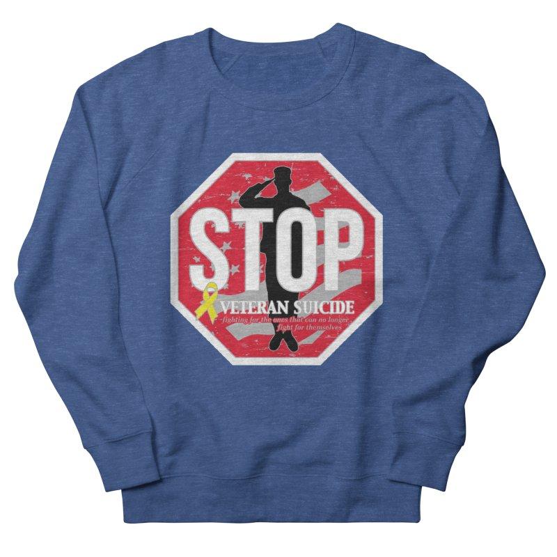 Stop Veteran Suicide Men's Sweatshirt by Moon Joggers's Artist Shop