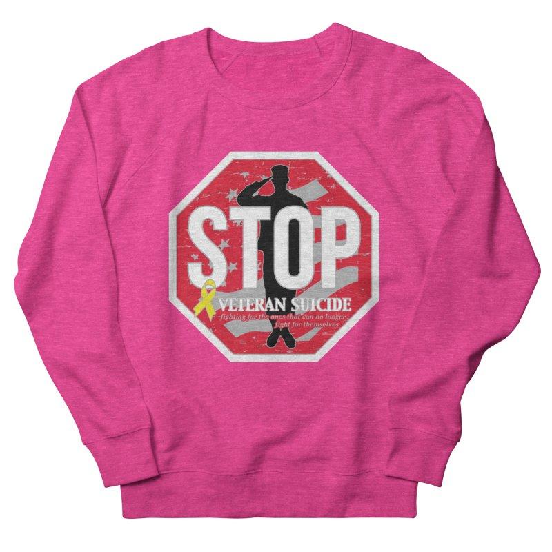 Stop Veteran Suicide Women's French Terry Sweatshirt by Moon Joggers's Artist Shop