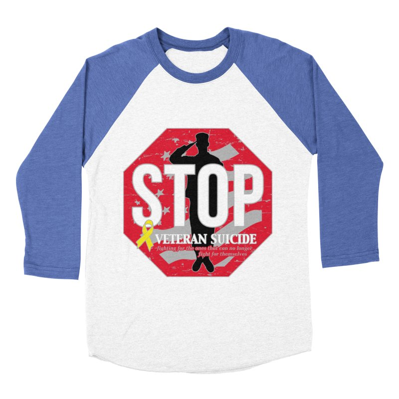 Stop Veteran Suicide Women's Baseball Triblend Longsleeve T-Shirt by Moon Joggers's Artist Shop