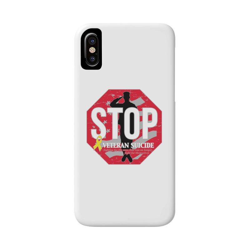 Stop Veteran Suicide Accessories Phone Case by Moon Joggers's Artist Shop