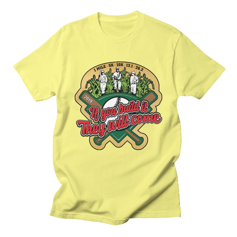 If You Build It They Will Come Men's Regular T-Shirt by Moon Joggers's Artist Shop