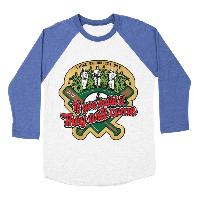 If You Build It They Will Come Women's Baseball Triblend Longsleeve T-Shirt by Moon Joggers's Artist Shop