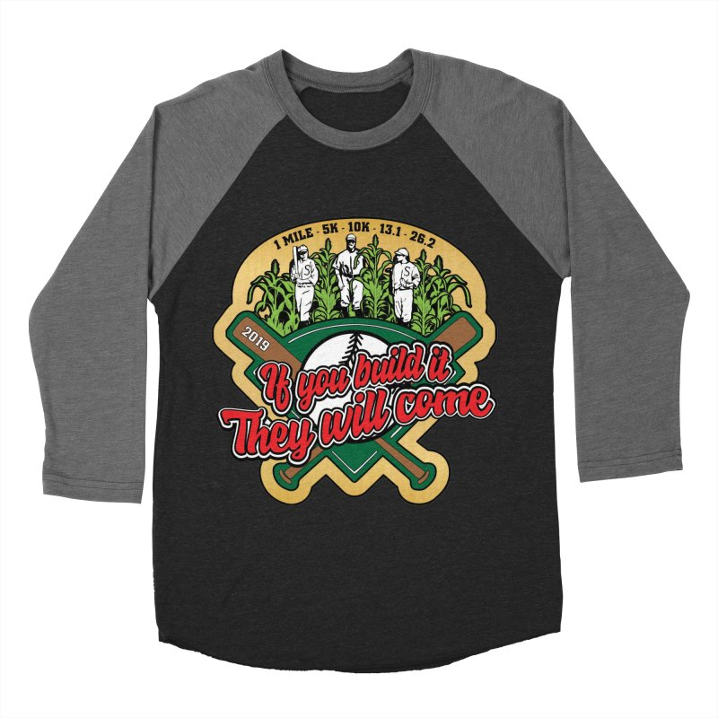 If You Build It They Will Come Men's Baseball Triblend Longsleeve T-Shirt by Moon Joggers's Artist Shop