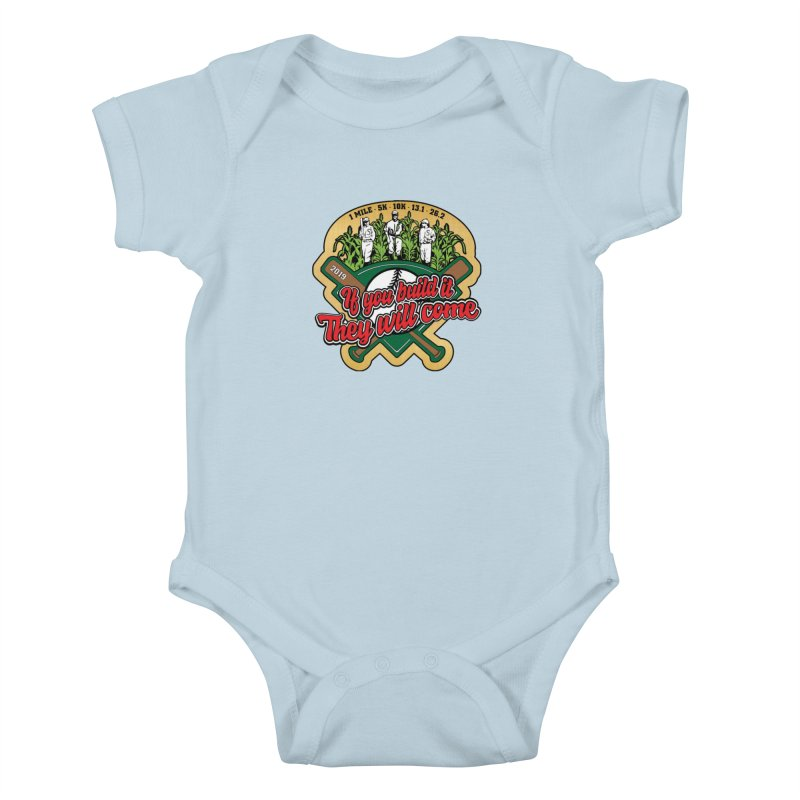 If You Build It They Will Come Kids Baby Bodysuit by Moon Joggers's Artist Shop