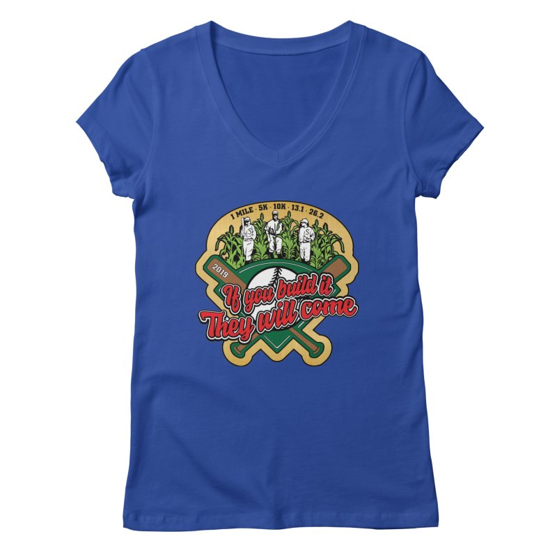 If You Build It They Will Come Women's Regular V-Neck by Moon Joggers's Artist Shop