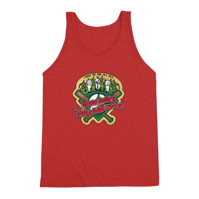 If You Build It They Will Come Men's Triblend Tank by Moon Joggers's Artist Shop