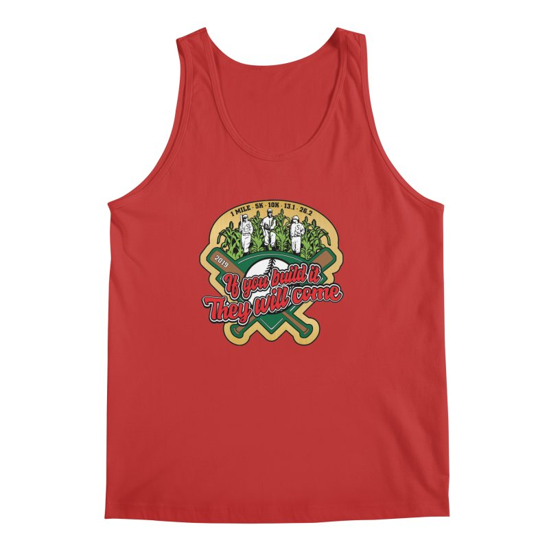 If You Build It They Will Come Men's Regular Tank by Moon Joggers's Artist Shop