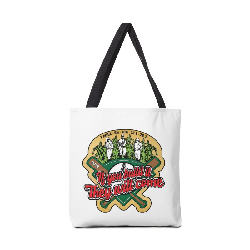 If You Build It They Will Come Accessories Tote Bag Bag by Moon Joggers's Artist Shop