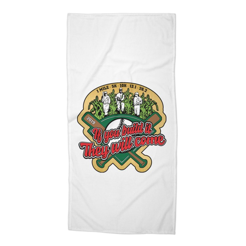 If You Build It They Will Come Accessories Beach Towel by Moon Joggers's Artist Shop