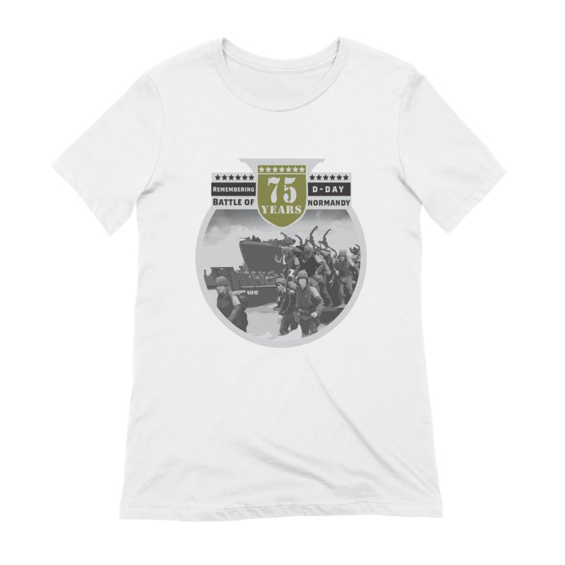 D-day 75th Anniversary: Battle of Normandy Women's Extra Soft T-Shirt by Moon Joggers's Artist Shop