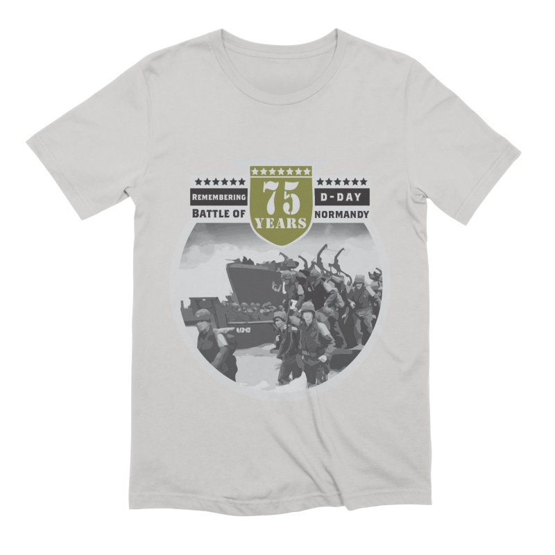 D-day 75th Anniversary: Battle of Normandy Men's Extra Soft T-Shirt by Moon Joggers's Artist Shop