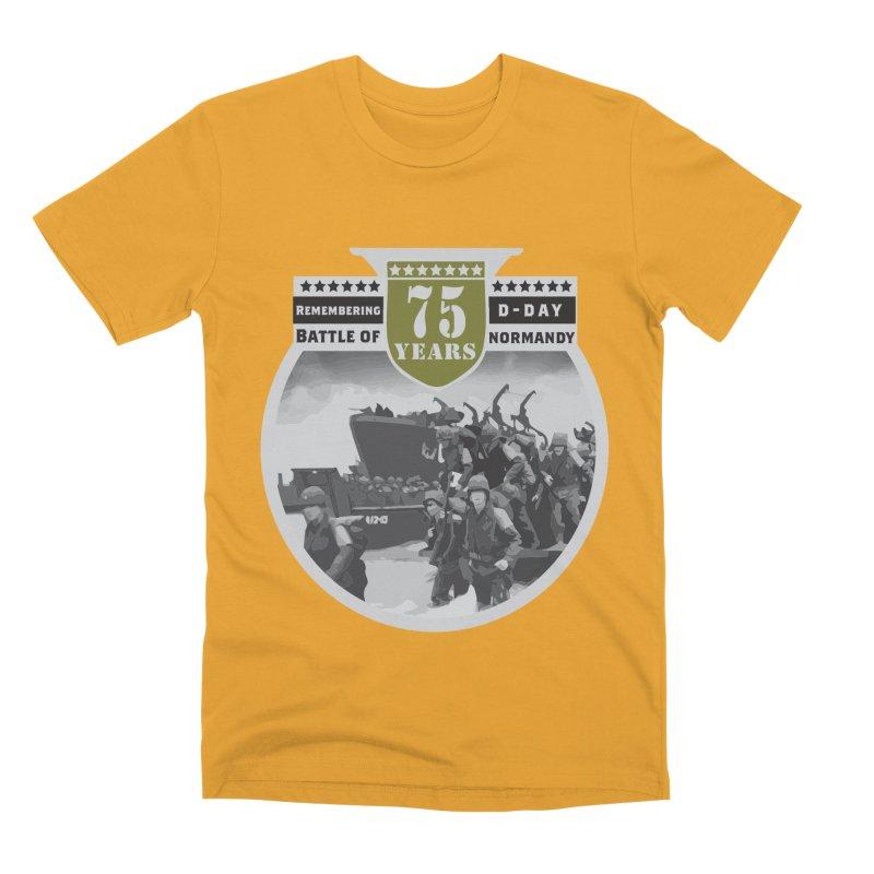 D-day 75th Anniversary: Battle of Normandy Men's Premium T-Shirt by Moon Joggers's Artist Shop