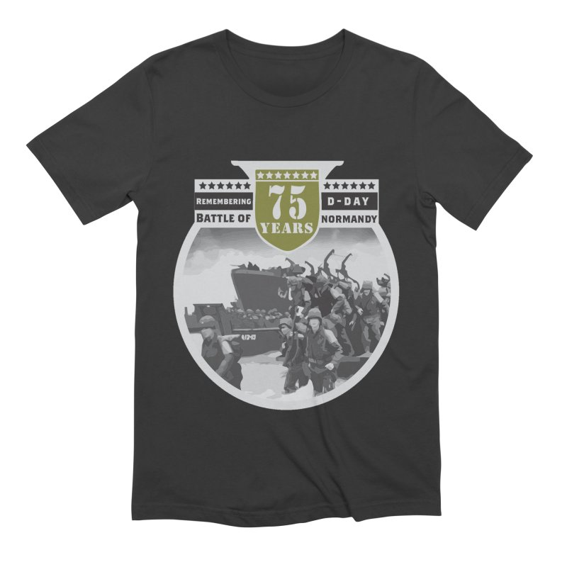 D-day 75th Anniversary: Battle of Normandy Men's T-Shirt by Moon Joggers's Artist Shop