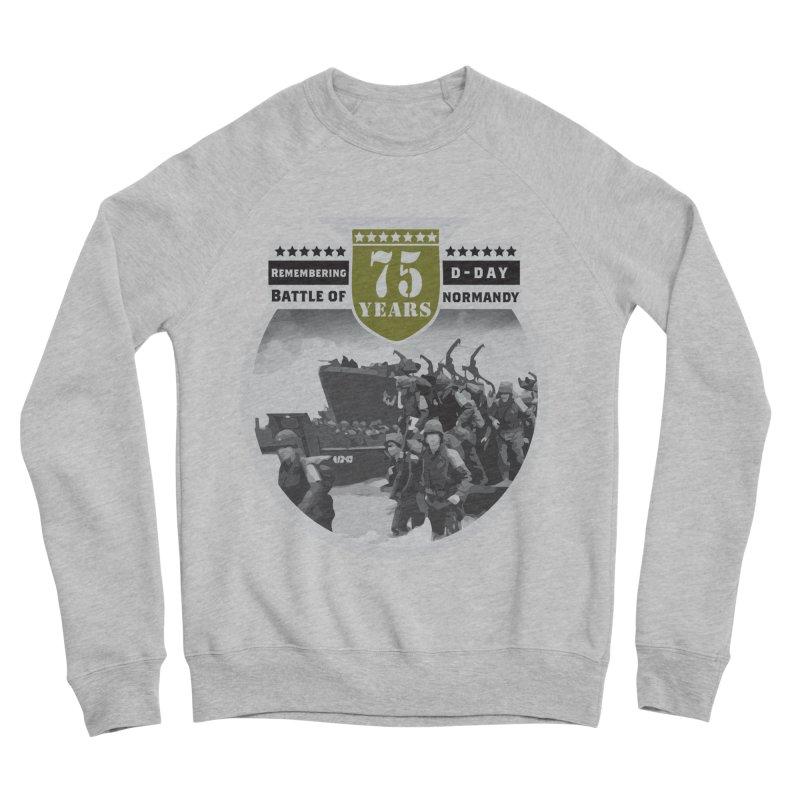 D-day 75th Anniversary: Battle of Normandy Women's Sponge Fleece Sweatshirt by Moon Joggers's Artist Shop