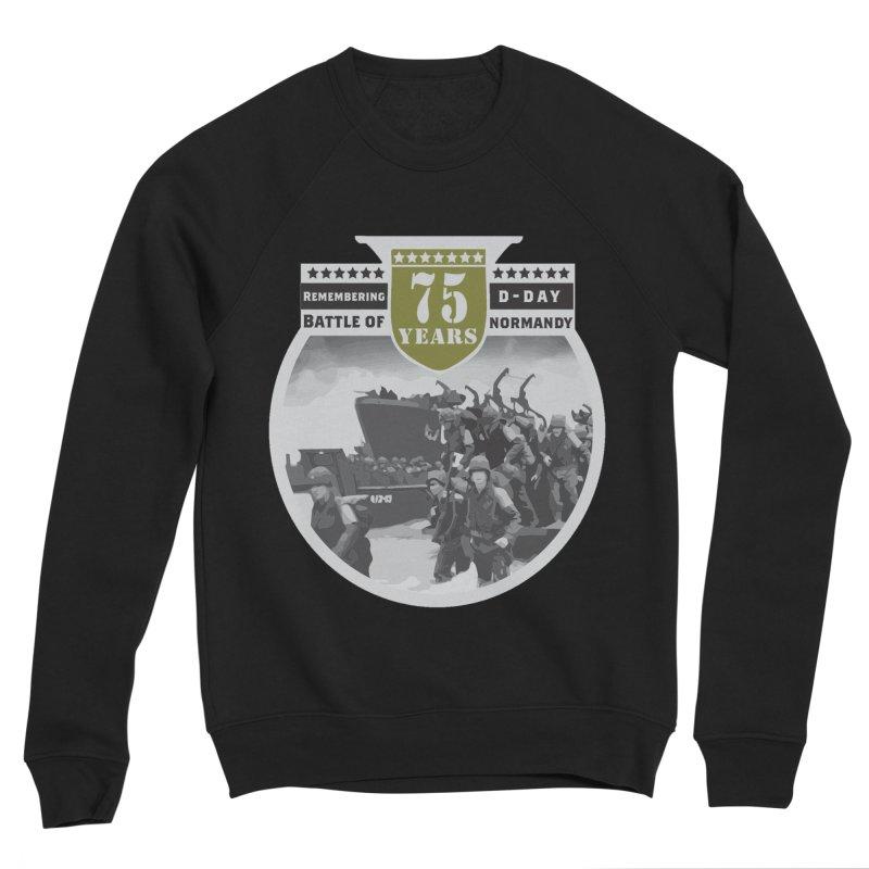 D-day 75th Anniversary: Battle of Normandy Men's Sponge Fleece Sweatshirt by Moon Joggers's Artist Shop