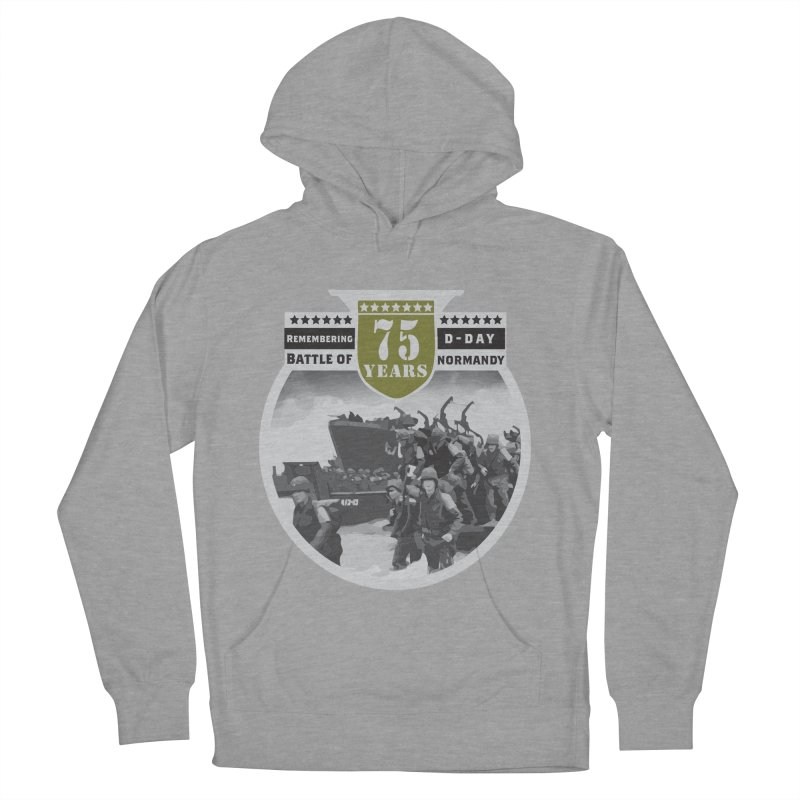 D-day 75th Anniversary: Battle of Normandy Women's French Terry Pullover Hoody by Moon Joggers's Artist Shop