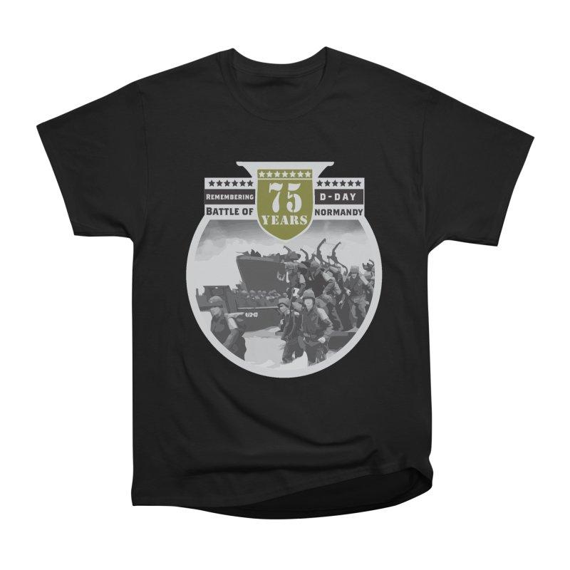 D-day 75th Anniversary: Battle of Normandy Women's Heavyweight Unisex T-Shirt by Moon Joggers's Artist Shop