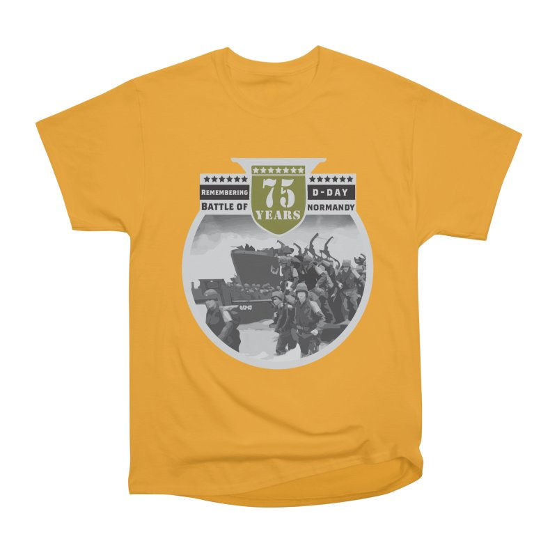D-day 75th Anniversary: Battle of Normandy Women's Heavyweight Unisex T-Shirt by Moon Joggers's Artist Shop
