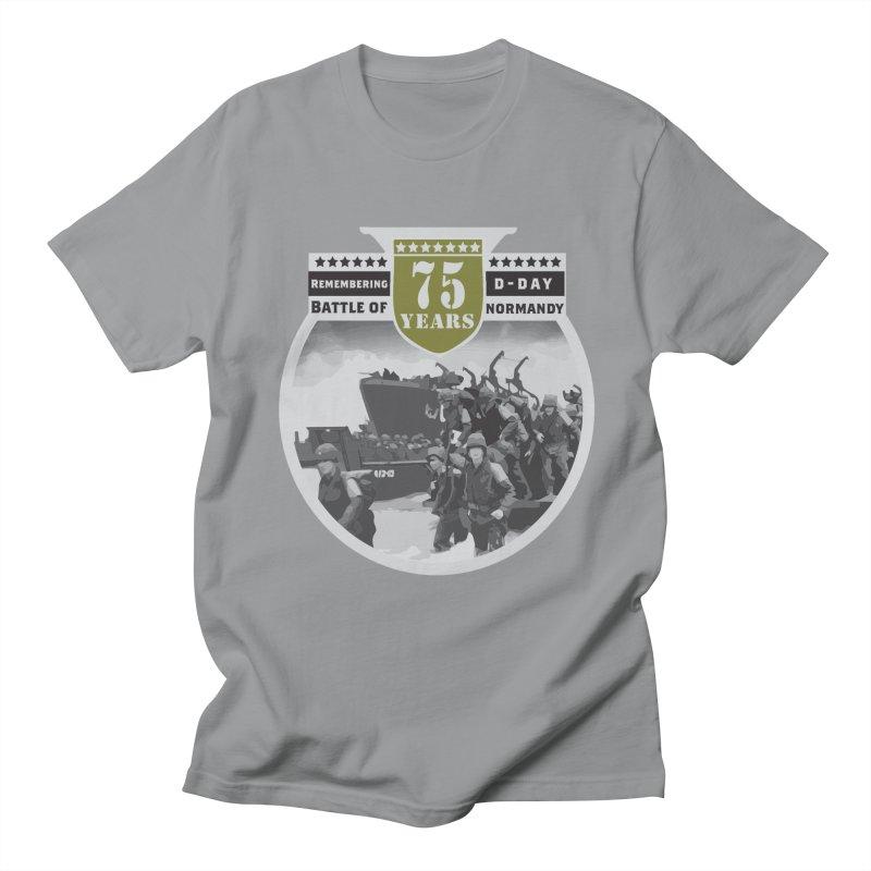 D-day 75th Anniversary: Battle of Normandy Men's Regular T-Shirt by Moon Joggers's Artist Shop