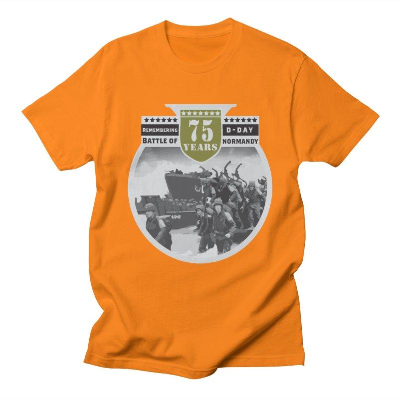 D-day 75th Anniversary: Battle of Normandy Women's Regular Unisex T-Shirt by Moon Joggers's Artist Shop