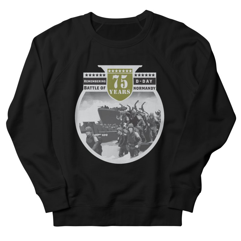 D-day 75th Anniversary: Battle of Normandy Women's French Terry Sweatshirt by Moon Joggers's Artist Shop